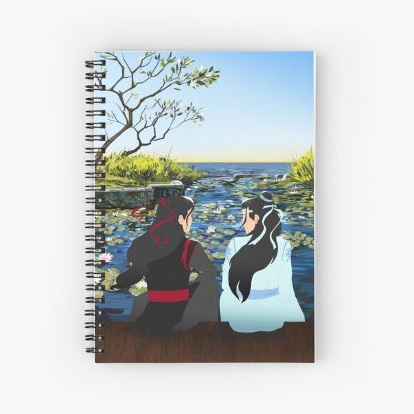 the untamed Spiral Notebook