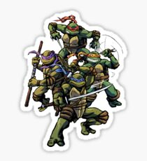 Turtle Power (textless) Sticker