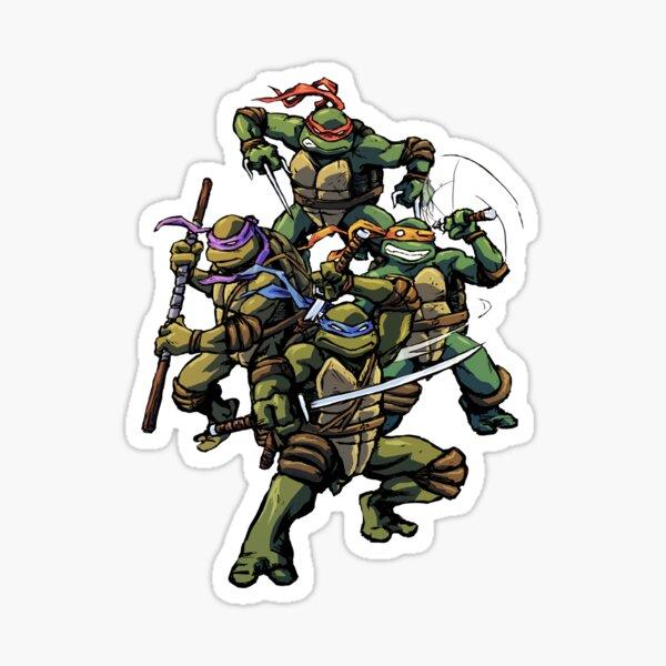 Turtle Power (textless) Sticker