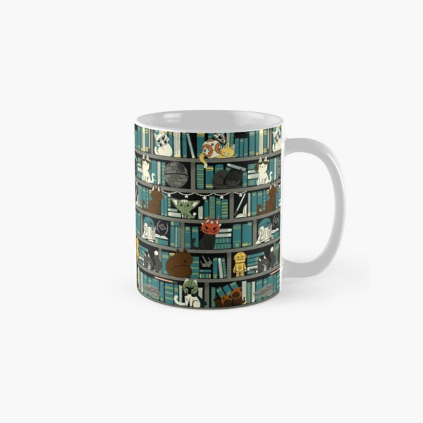 Library Kitten Wars Classic Mug