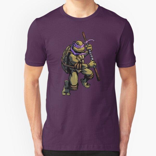 Turtle Power DON Slim Fit T-Shirt