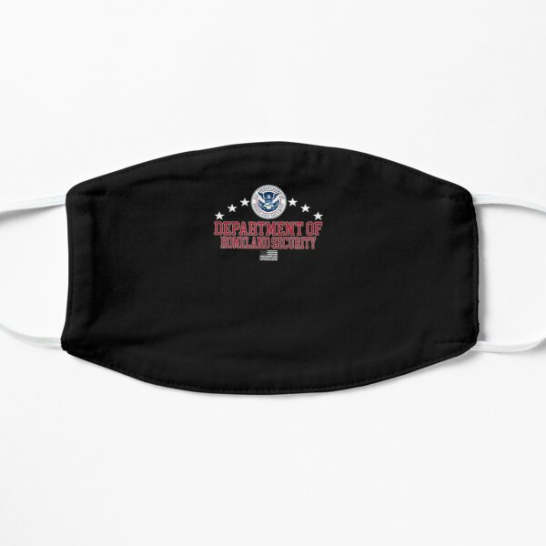 Department-Of-Homeland-Security-Dhs- Flat Mask