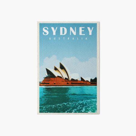 Sydney Travel Poster Vintage • Sydney Opera House • Sydney Skyline • Australia Art Art Board Print