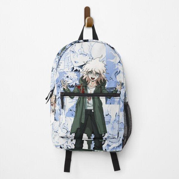 Nagito Komaeda Manga Collage Backpack