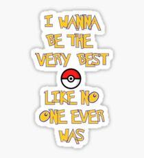 Pokemon Theme Sticker