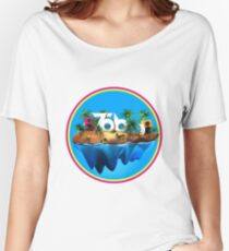 Tobu island Women's Relaxed Fit T-Shirt