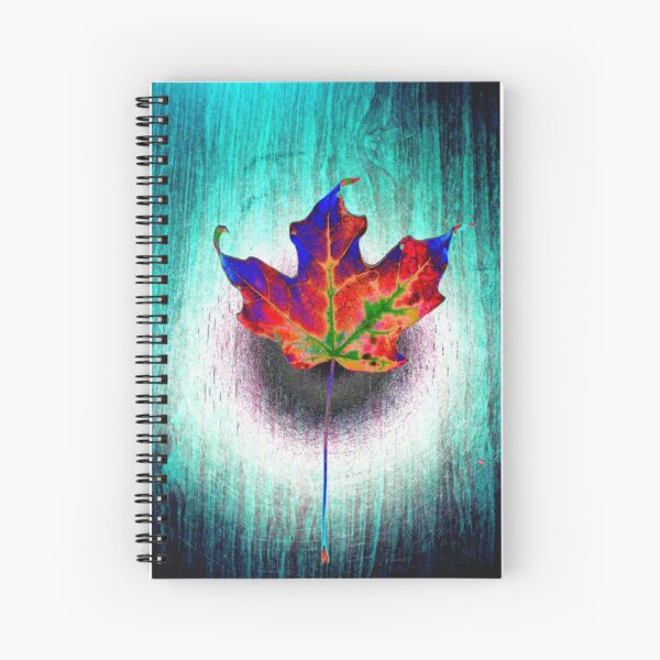 Behold The Leaf Lord Spiral Notebook