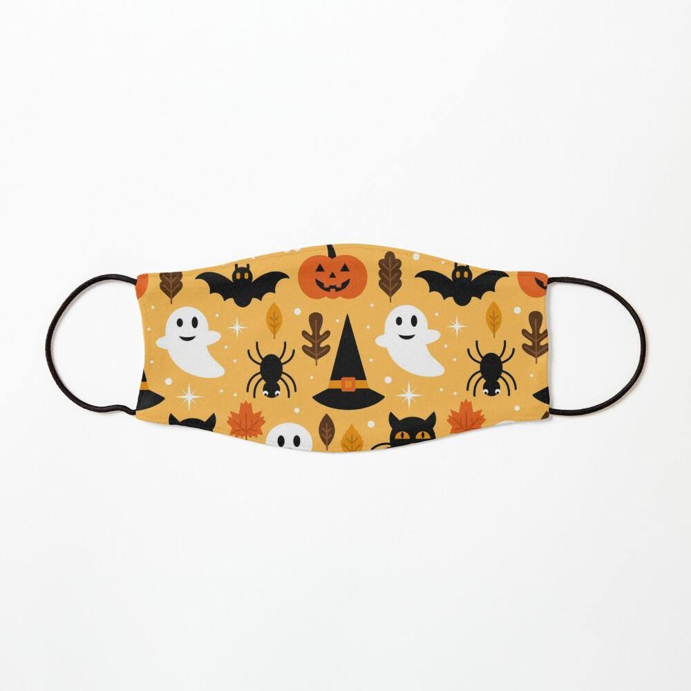 Boo Cats Halloween Night Pattern Art Mask