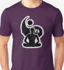 Meditated Peace - Ebony Unisex T-Shirt