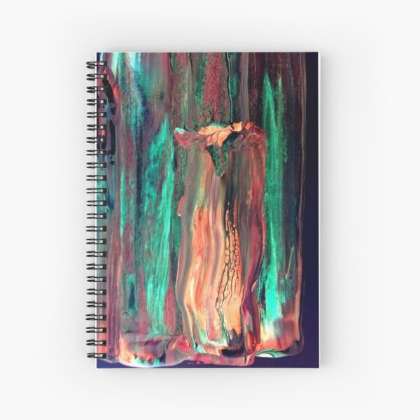 Deep in the Earth Spiral Notebook