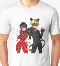 95184b1be Camiseta ajustada Miraculous Ladybug and Cat Noir