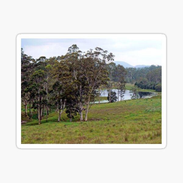 Peaceful Australian Countryside Sticker