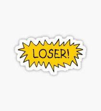 Pegatina ¡¡perdedor!!