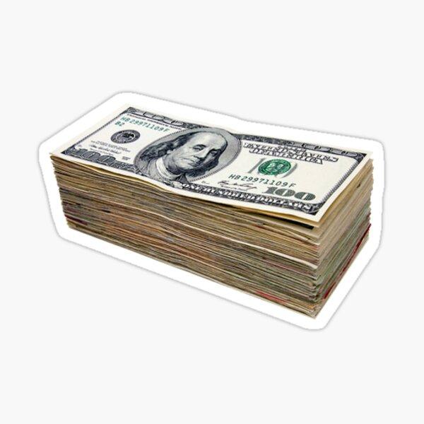 pile d'argent Sticker