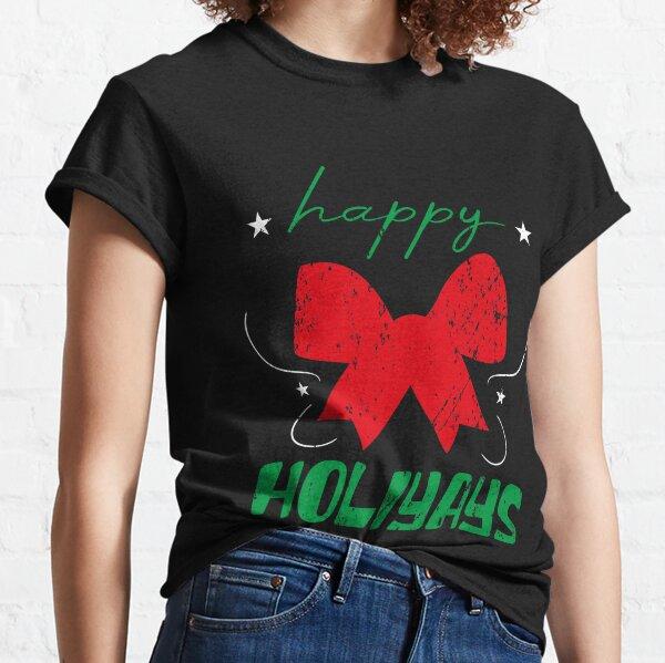 Happy Holidays Vintage Christmas Classic T-Shirt