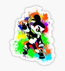 Inkling Boy - Splatter Sticker