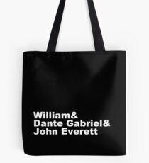 Tribute to the Pre-Raphaelite Brotherhood Tote Bag