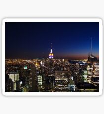 Empire State Building in New York City Sticker