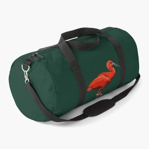 Scarlet Ibis Portrait Duffle Bag