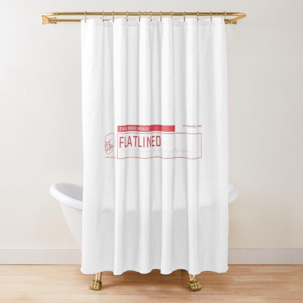 Fatal Brain Damage Shower Curtain
