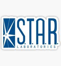 S.T.A.R. Laboratories (blue) Sticker