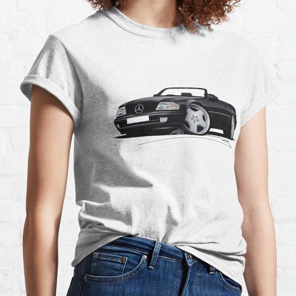 Mercedes SL (R129) Noir T-shirt classique