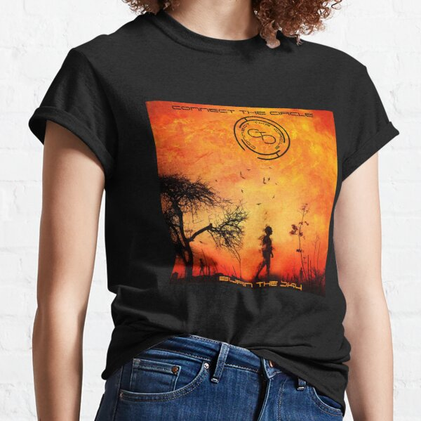Connect The Circle - Burn The Sky Classic T-Shirt