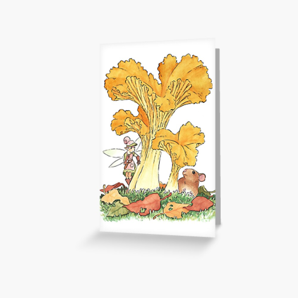Pest Control (Watercolor) Greeting Card