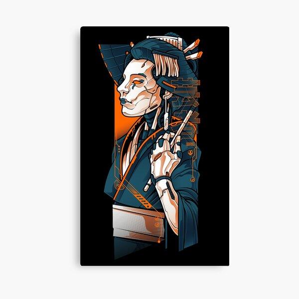 Mecha Geisha Canvas Print