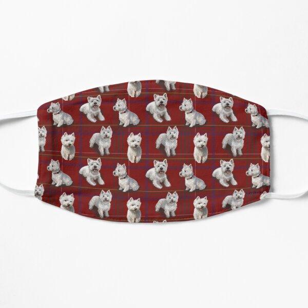 West Highland Terrier Westie Flat Mask