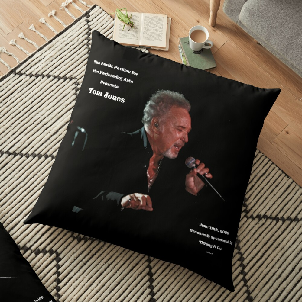 Tom Jones Floor Pillow