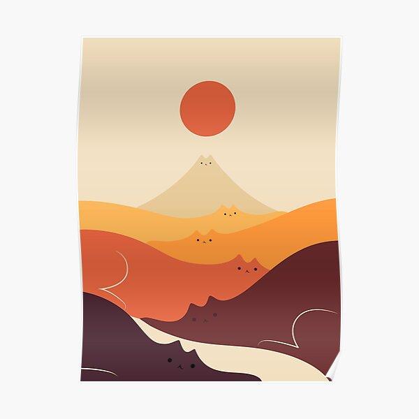 Cat Landscape 87 Poster