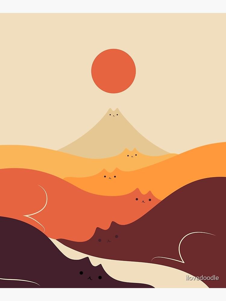 Cat Landscape 87 by ilovedoodle