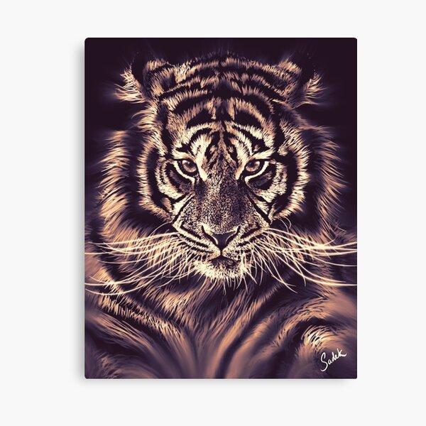 Strokes & Stripes Canvas Print