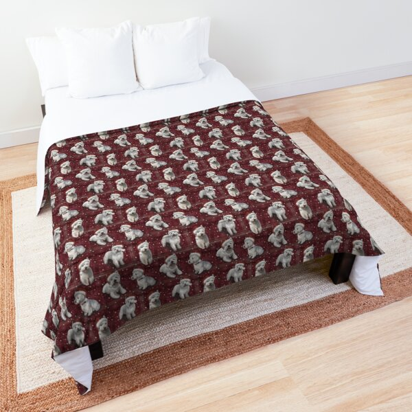 The Christmas West Highland Terrier Comforter