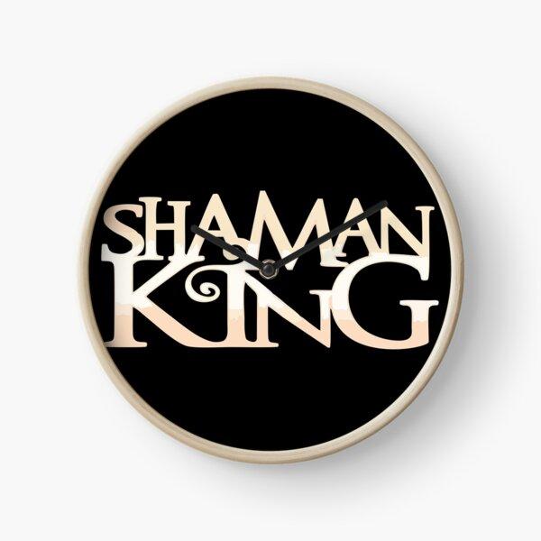 Shaman King Logo 2 Clock