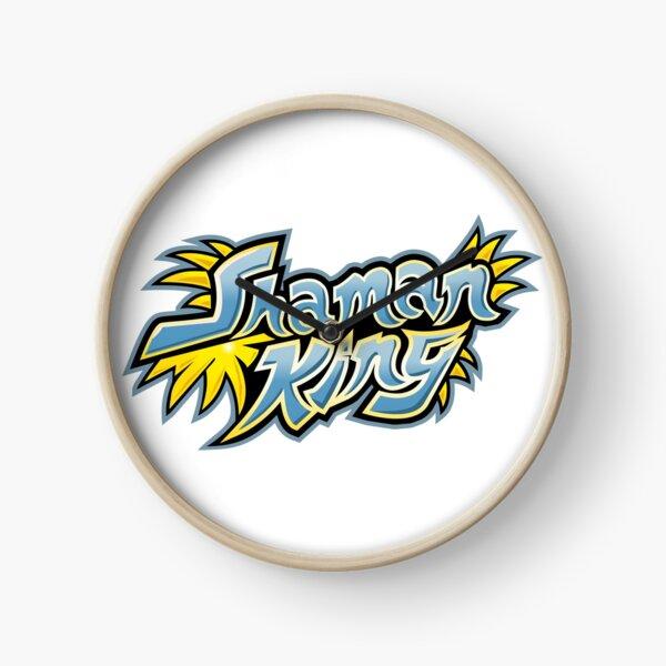 Shaman King Logo 1 Clock
