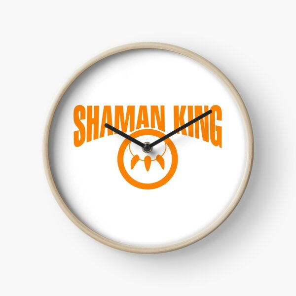 Shaman King Logo 3 Clock