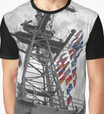 Flying Flags Graphic T-Shirt