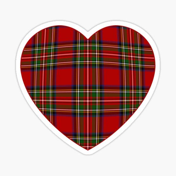 Royal Stewart Tartan Plaid Sticker