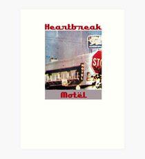 Heartbreak Motel Art Print