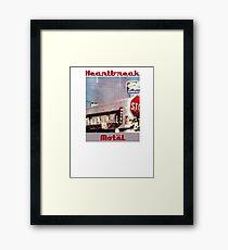 Heartbreak Motel Framed Print