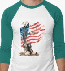 Fallen Men's Baseball ¾ T-Shirt