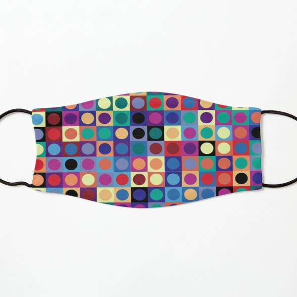 Vasarely Inspired Kids Mask