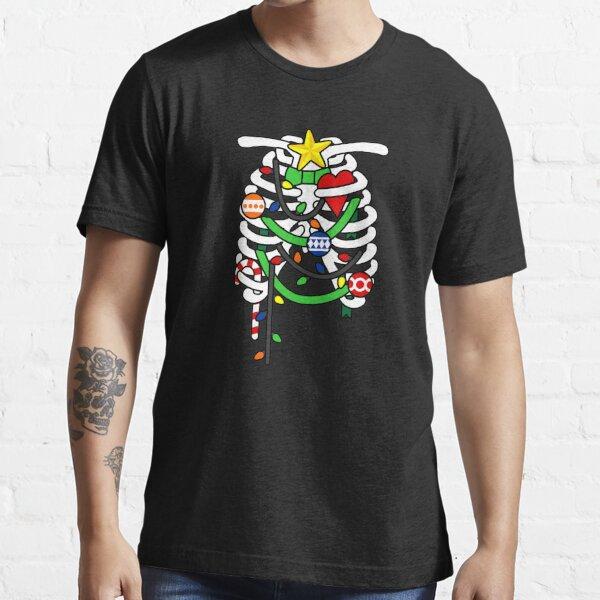 Christmas X-Ray Ribs Skeleton Essential T-Shirt