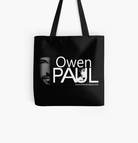 Owen Paul Logo Art All Over Print Tote Bag
