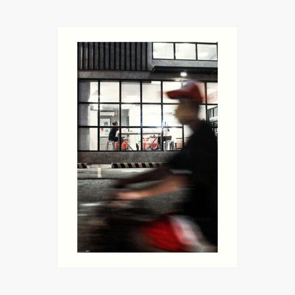 1518. (color street photography) II Art Print