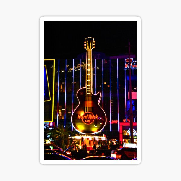LED Wandbild Las Vegas no Roy /& Siegfried Rock hard Hotel Bar Tiki Aufkleber