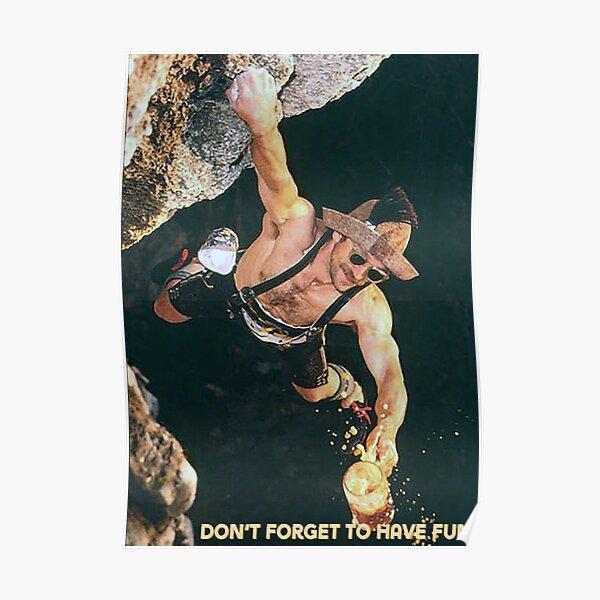 Kurt Albert Free Solo Poster