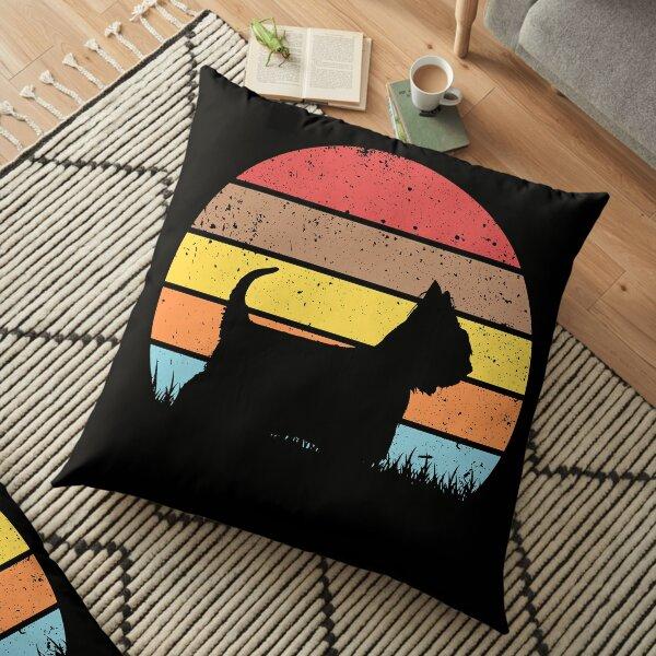 Australian Silky Terrier Floor Pillow